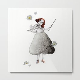 Picture Three:  The Violin Metal Print