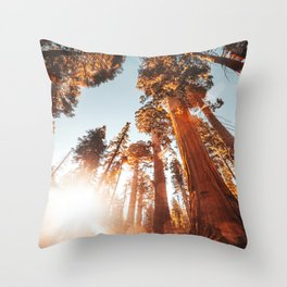 sequoia national park Throw Pillow