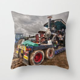 The Burrell Loader Throw Pillow