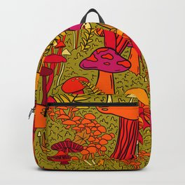 Mushrooms in the Forest Backpack