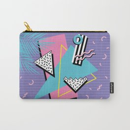 Memphis Pattern 57 - 80s - 90s Retro / 2nd year anniversary design Carry-All Pouch