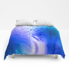 Blue Splash Comforters