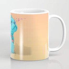 Psychedelic French Bulldog Coffee Mug