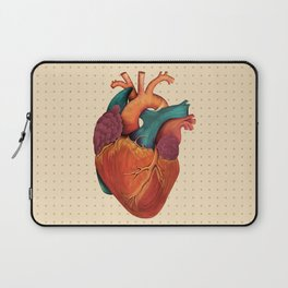 Anatomical Human Heart - Textbook Color Laptop Sleeve