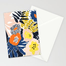 More design for a happy life - high Stationery Cards