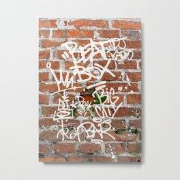 Beat Box Metal Print