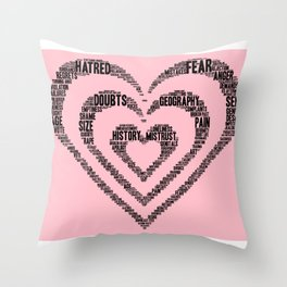 My Love Is Deeper Than My .... Throw Pillow