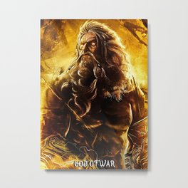 God of War Ascension Metal Print