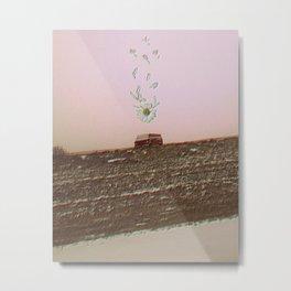 trippy daisy van Metal Print