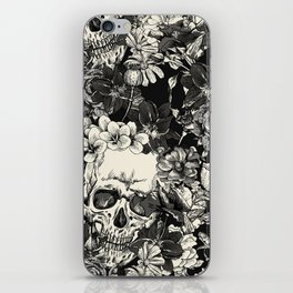 SKULLS HALLOWEEN SKULL iPhone Skin