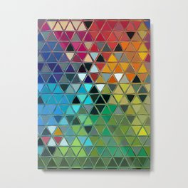 Chromatic Interpretation 1, 2019- Society6 Exclusive Metal Print