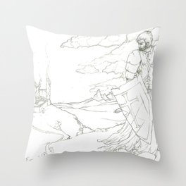 Knights Shame Throw Pillow