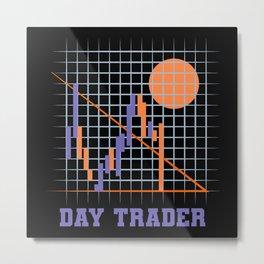 Day Traders Metal Print