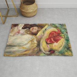 """Auguste Renoir """"Les deux soeurs"""" Rug"""