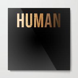 Human Black Lives Matter Metal Print