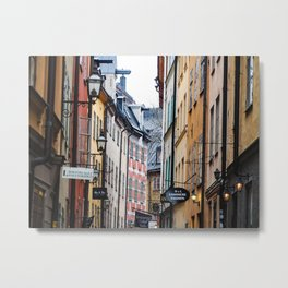 February in Stockholm Metal Print