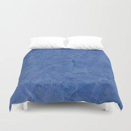 Tuscan Blue Plaster | Corbin Henry | Faux Finishes Duvet Cover