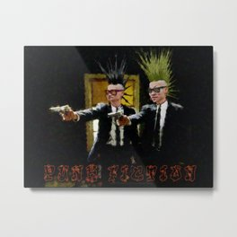 PUNK FICTION V3 - 022 Metal Print