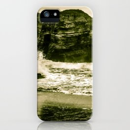 The Beach of the Cathedrals, Spain iPhone Case