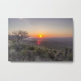 Sunrise on Elam Metal Print