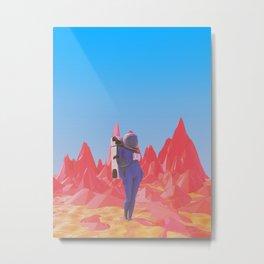 Cosmonaut.2. Metal Print