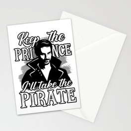 I'll take the pirate! Stationery Cards
