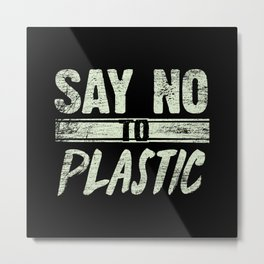 Environmental Protection Plastic Metal Print