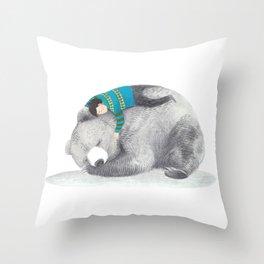 Beary me Throw Pillow