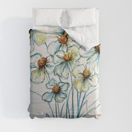 Among Wildflowers-Barbara Chichester Comforters