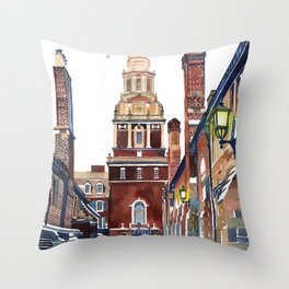Yale University Throw Pillow