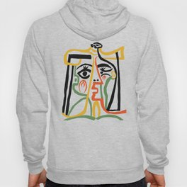 Picasso - Woman's head #1 Hoody