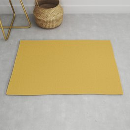 PLAIN SOLID SPICY MUSTARD COLOR FOR COMPLIMENTARY PATTERNS  Rug