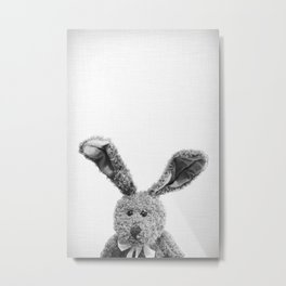 Can I be your bunny? Metal Print