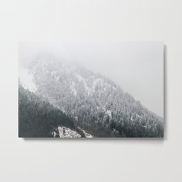 Swiss Alps - v2 Metal Print