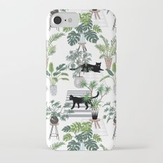 cats in the interior pattern iPhone 8 Slim Case