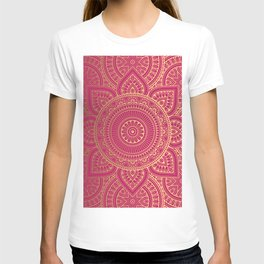 Gold Mandala 10 T-shirt