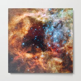 Grand Star Forming (Tarantula Nebula) Metal Print
