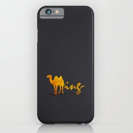 Gold Humping iPhone Case