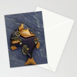 Steampunk Hatchetfish Stationery Cards