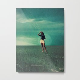 Loved the way You once looked upon Tomorrow Metal Print