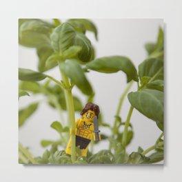 Lego Tarzan Metal Print