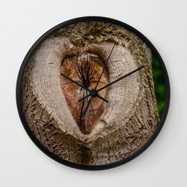 tree tribe branch knothole nature Wall Clock
