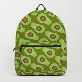 Spot-o-Cado - avocado green Backpack