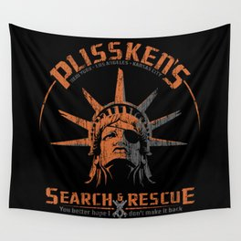 Snake Plissken's Search & Rescue Pty. Ltd. Wall Tapestry