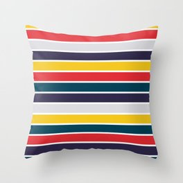 Intense Colors Throw Pillow