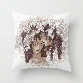 Moment Throw Pillow