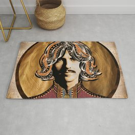 Boho Beatle (George) Rug