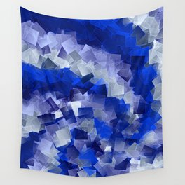 little sqares and rectangles pattern -1- Wall Tapestry
