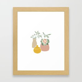 Still life. Framed Art Print