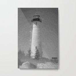 Crisp Point Visitor Metal Print